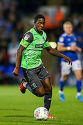 AFC Wimbledon forward Michael Folvi (17) during the EFL Sky Bet League 1 match between Ipswich Town and AFC Wimbledon at Portman Road, Ipswich, England on 20 August 2019.