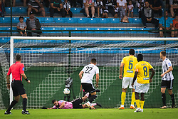 Matko Obradovič of Mura makes a save during football match between NŠ Mura and Bravo in 2nd Round of Prva liga Telekom Slovenije 2019/20, on July 21, 2019 in Fazanerija, Murska Sobota, Slovenia. Photo by Blaž Weindorfer / Sportida