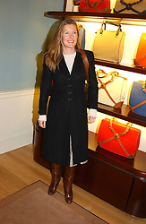 SOPHIE CONRAN at a party to celebrate the 2nd anniversary of Quintessentially magazine held at Asprey, Bond Street, London on 24th February 2005.<br />