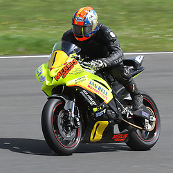 Mike Minns from Bishop Aukland in action at the the annual visit to Knockhill of the North East MCRC Championship round. STEPHEN LAWSON|STOCKPIX