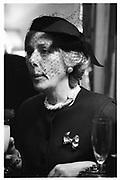 Mrs David Acland. Alexander Wilmot-Sitwell/Fiona Marr wedding, 10.10.87© Copyright Photograph by Dafydd Jones 66 Stockwell Park Rd. London SW9 0DA Tel 020 7733 0108 www.dafjones.com