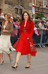 LADY ROSE INNES-KER at the wedding of Laura parper Bowles to Harry Lopes held at Lacock, Wiltshire on 6th May 2006.<br /><br />NON EXCLUSIVE - WORLD RIGHTS