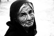 Old woman living in the village of Kritsa, outside Agios Nikolaos Crete.