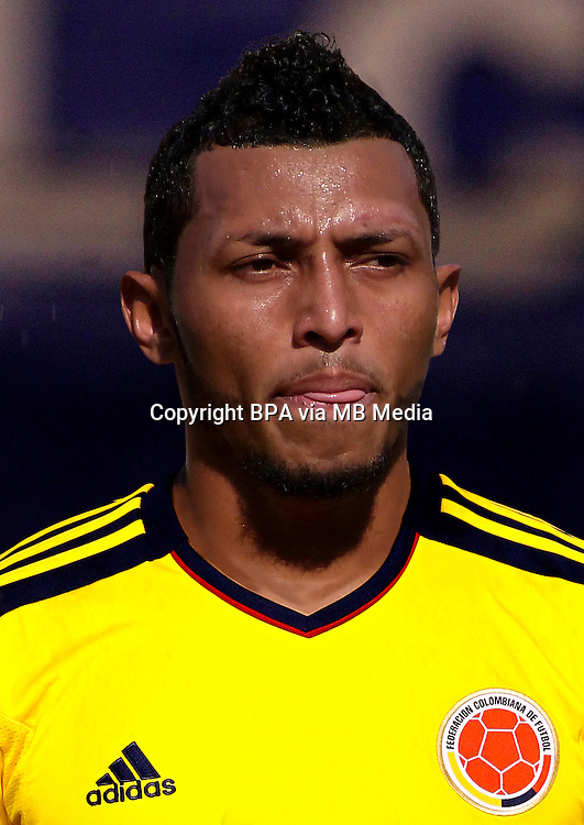 Football Fifa Brazil 2014 World Cup / <br /> Colombia National Team -<br /> Carlos Valdes of Colombia