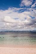 Beach on the Komodo archipelago Alila Purnama.