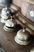 Collection of reception counter bells