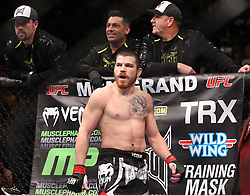 Las Vegas, NV - December 29, 2012: Jim Miller before his bout against Joe Lauzon at UFC 155 at MGM Grand Garden Arena in Las Vegas, Nevada.