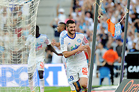 Fotball<br /> Frankrike <br /> 19.10.2014<br /> Foto: Panoramic/Digitalsport<br /> NORWAY ONLY<br /> <br /> joie Andre Pierre Gignac apres son but (Marseille)<br /> <br /> Marseille vs Toulouse - Ligue 1