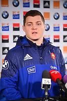 Benjamin KAYSER  - 02.02.2015 - Conference de Presse - Equipe de France<br />Photo : Dave Winter / Icon Sport