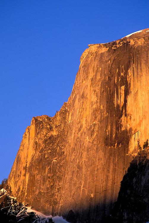 Evening light on Half Dome, Yosemite National Park, California