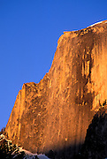 Evening light on Half Dome, Yosemite National Park, California
