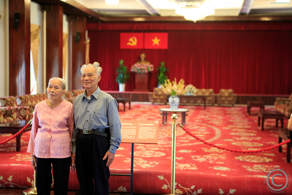 Independence Palace in Ho Chi Minh City, Vietnam is a place of great pride for many Vietnamese people.