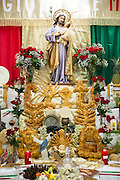 St. Joseph's Altar at St. Jane De Chantal Church in Abita Springs, Louisiana; March 19, 2016