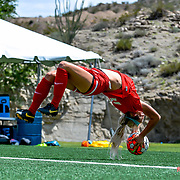 New Mexico Lady Lobos vs UTEP Lady Miners, University Field, El Paso Texas, August 27, 2017