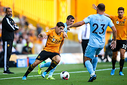 Pedro Neto of Wolverhampton Wanderers takes on Jack Cork of Burnley - Mandatory by-line: Robbie Stephenson/JMP - 25/08/2019 - FOOTBALL - Molineux - Wolverhampton, England - Wolverhampton Wanderers v Burnley - Premier League
