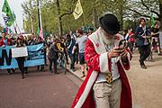 Sustaina Claus, Extinction Rebellion, London 23 April  2019