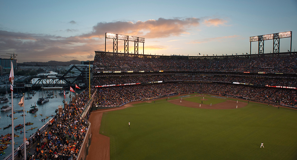 AT&amp;T Park - <br /> 2014 MLB World Series with the <br /> San Francisco Giants vs the KC Royals.