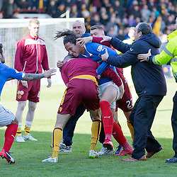 Motherwell v Rangers | Scottish Premiership Play off second leg | 31 May 2015