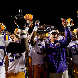 November 10, 2012; Baton Rouge, LA, USA;  during the second half of a game at Tiger Stadium.  LSU defeated Mississippi State 37-17. Mandatory Credit: Derick E. Hingle-US PRESSWIRE