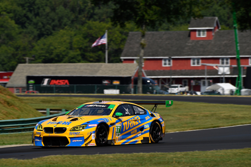 26-28 August, 2016, Alton, Virginia USA<br /> 97, BMW, M6 GT3, GTD, Michael Marsal, Markus Palttala<br /> &copy;2016, Scott R LePage <br /> LAT Photo USA