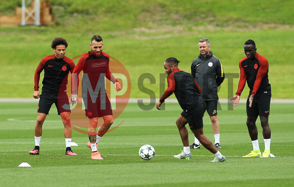 - Mandatory by-line: Matt McNulty/JMP - 12/09/2016 - FOOTBALL - Manchester City - Training session ahead of Champions League Group C match against Borussia Monchengladbach