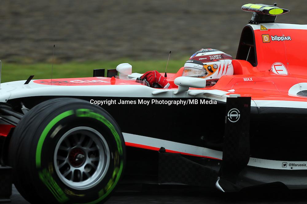 Max Chilton (GBR) Marussia F1 Team MR03.<br /> Japanese Grand Prix, Sunday 5th October 2014. Suzuka, Japan.