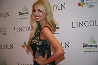Rosanna Davison at the Lincoln film premiere Savoy Cinema in Dublin, Ireland. Sunday 20th January 2013.