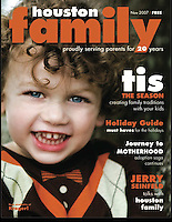 Houston Family Cover November 2007