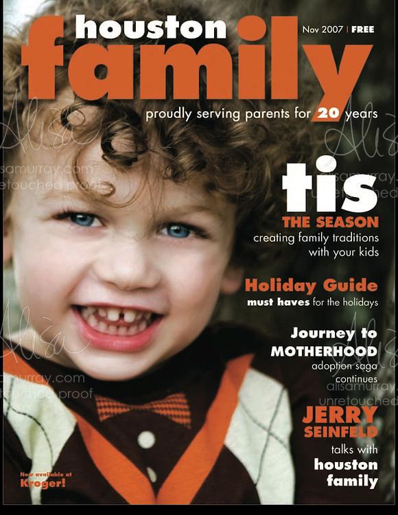 Houston Family Cover November 2007