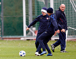 22.11.2010, Colney, London, ENG, UEFA CL, Arsenal Training, im Bild Arsenal's Aaron Ramsey, EXPA Pictures © 2010, PhotoCredit: EXPA/ IPS/ Kieran Galvin *** ATTENTION *** UK AND FRANCE OUT!