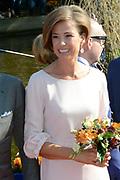 Koningsdag 2014 in de Rijp, het vieren van de verjaardag van de koning. / Kingsday 2014 in the Rijp , celebrating the birthday of the King. <br /> <br /> <br /> Op de foto / On the photo:  Prinses Marilene  / Princess Marilene