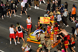California: San Francisco Bay to Breakers annual foot race. Photo copyright Lee Foster. Photo # 31-casanf80847