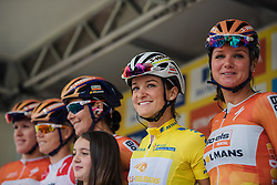 One day to defend the jersey for Lizzie Armitstead and her Boels Dolmans teammates at Aviva Women's Tour 2016 - Stage 5. A 113.2 km road race from Northampton to Kettering, UK on June 19th 2016.