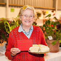 Mary Leonard, from Killenena, with her prizewinning bread at the Scarriff Agricultural Show 2014