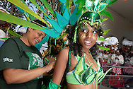 UK. London. Notting Hill Carnival in West London..Photo©Steve Forrest/Workers' Photos