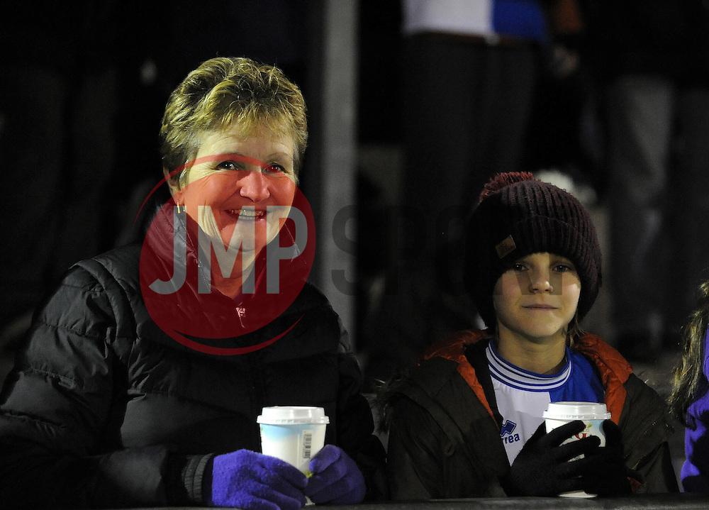 Bristol Rovers fans - Photo mandatory by-line: Neil Brookman/JMP - Mobile: 07966 386802 - 19/12/2014 - SPORT - football - Bristol - Memorial Stadium - Bristol Rovers v Gateshead  - Vanarama Conference