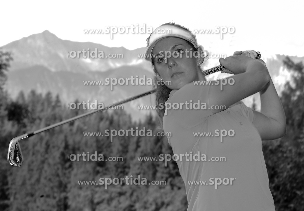"05.07.2016, Olympia Golfplatz, Igls, AUT, Olympia Golf Igls, Fototermin, Olympische Spiele, Rio 2016, im Bild Christine Wolf (AUT) // Christine Wolf of Austria during a photocall of the Olympia Golf Igls prior to the Olympics games ""Rio 2016"". Austria on 2016/07/05. EXPA Pictures © 2016, PhotoCredit: EXPA/ Erich Spiess"