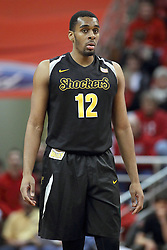 14 February 2015:   Darius Carter during an NCAA MVC (Missouri Valley Conference) men's basketball game between the Wichita State Shockers and the Illinois State Redbirds at Redbird Arena in Normal Illinois