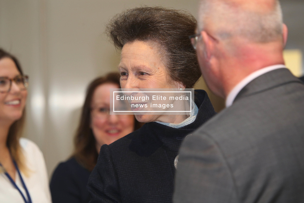 Princess Royal meeting staff in the new HQ of Standard Life Aberdeen in St Andrew Square, Edinburgh 10042018 pic by Terry Murden @edinburghelitemedia
