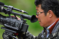 Wildlife photographer Mr Li Yuliang, Tangjiahe National Nature Reserve, NNR, Qingchuan County, Sichuan province, China