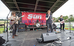 The Asuras open the Sun Break Out stage. Sunday at Party at the Palace 2017, Linlithgow.