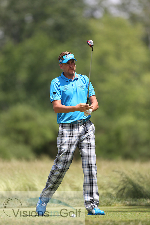 Ian Poulter<br /> on the first day at the US Open Championship, Merion East, PA. USA 2013 <br /> Picture Credit:  Mark Newcombe / visionsingolf.com