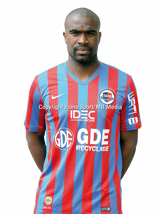 Sloan PRIVAT - 17.09.2014 - Portrait officiel - Caen - Ligue 1<br /> Photo : Icon Sport