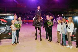 Van De Pol Henk (NED) - Talent<br /> KWPN Hengstenkeuring - 's Hertogenbosch 2013<br /> © Dirk Caremans
