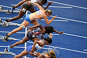 Carole Zahi competes in women 100m during the European Championships 2018, at Olympic Stadium in Berlin, Germany, Day 1, on August 7, 2018 - Photo Philippe Millereau / KMSP / ProSportsImages / DPPI