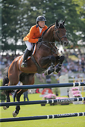 Greve Willem, (NED), Eldorado vd Zeshoek TN<br /> Furusiyya FEI Nations CupTM presented by Longines<br /> CSIO Sankt Gallen 2015<br /> © Hippo Foto - Stefano Secchi<br /> 05/06/15