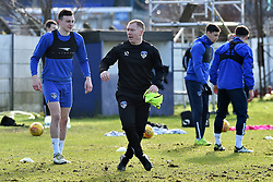 February 11, 2019 - Oldham, England, United Kingdom - Paul Scholes is unveiled as Oldham Athletic manager at Boundary Park, Oldham on Monday 11th February 2019. Pictured taking his first training session...(Credit: Eddie Garvey | MI News & Sport Ltd).©MI News & Sport Ltd.Tel: +44 7752 571576.e-mail: markf@mediaimage.co.uk.Address: 1 Victoria Grove, Stockton on Tees, TS19 7EL  (Credit Image: © Mi News/NurPhoto via ZUMA Press)
