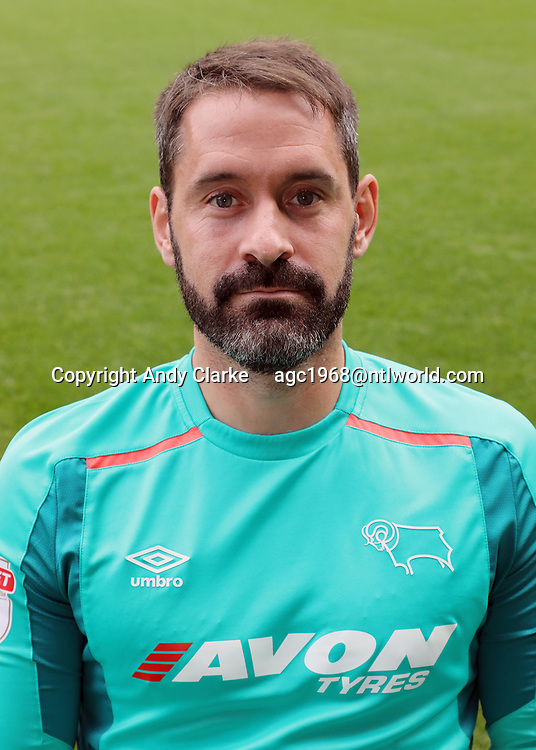 Derby County Photo Call.  Scott Carson