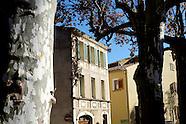 Le Haut Var dans la lumière de l'automne, Provence, France.