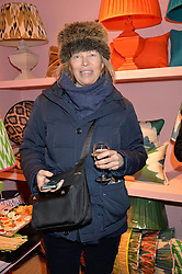 LADY ALEXANDRA FOLEY at a party hosted by Melodi Horne & Pentreath & Hall at 17 Rugby Street, Bloomsbury, London on 12th February 2015.